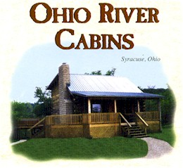 This Beautiful Log Cabin Is Located Along The Banks Of The Ohio River. You  Will Enjoy Boating, Fishing, Hiking Or Just Relaxing In This Quiet Country  ...